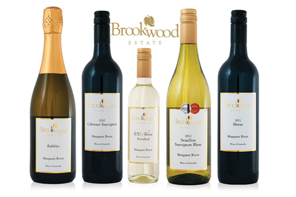 A selection of our wine range.